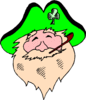 saint patricks day Leprechaun 03 clip art