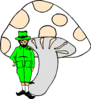 saint patricks day Leprechaun 04 clip art