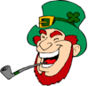 saint patricks day Leprechaun 06 clip art