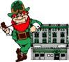saint patricks day Leprechaun 08 clip art