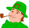 saint patricks day Leprechaun 12 clip art