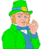 saint patricks day Leprechaun 13 clip art