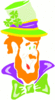 saint patricks day Leprechaun 16 clip art