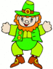 saint patricks day Leprechaun 17 clip art