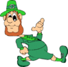 saint patricks day Leprechaun 18 clip art