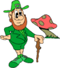 saint patricks day Leprechaun 19 clip art