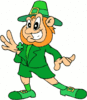 saint patricks day Leprechaun 20 clip art
