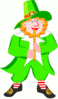 saint patricks day Leprechaun 22 clip art