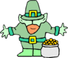 saint patricks day Leprechaun 23 clip art