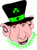 saint patricks day Leprechaun 24 clip art