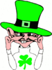 saint patricks day Leprechaun 25 clip art