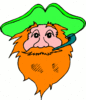 saint patricks day Leprechaun 27 clip art