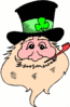 saint patricks day Leprechaun 28 clip art