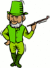 saint patricks day Leprechaun 29 clip art