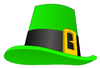 saint patricks day Leprechaun hat clip art