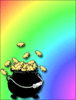 saint patricks day Pot of Gold 01 clip art