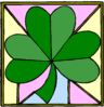 saint patricks day Shamrock Background clip art