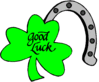 saint patricks day Shamrock Good Luck clip art