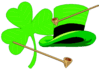 saint patricks day Shamrock Hat 1 clip art