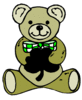 saint patricks day Teddy Bear Shamrock clip art