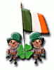 saint patricks day iflag clip art
