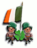 saint patricks day iflag2 clip art