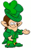 saint patricks day leprechaun clip art