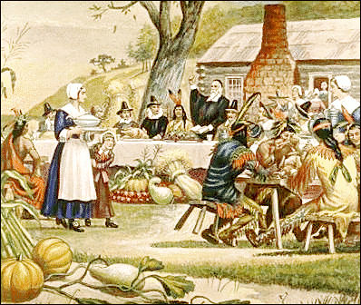 thanks giving First Thanksgiving in America