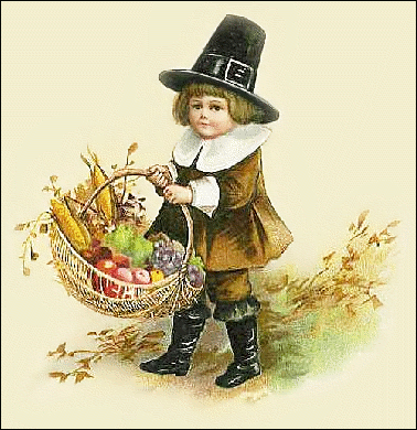 thanks giving little pilgrim