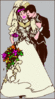 wedding Bride Groom 4 clip art