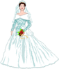 wedding Bride sm clip art