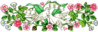 wedding Dove Flowers 2 clip art