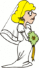 wedding bride 3 clip art