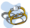 wedding diamond ring clip art