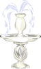 wedding fountain clip art