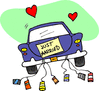 wedding just married 0 clip art
