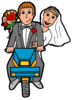 wedding just married 1 clip art
