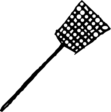 ratty old fly swatter