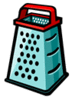 Cheese Grater 1 clip art