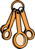 Measuring Spoons 3 clip art