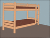 bunk beds clip art