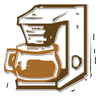 coffee maker 2 clip art