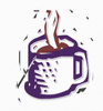 coffee steaming clip art