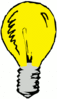 light bulb simple 2 clip art