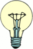 lightbulb detailed clip art