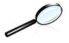 magnifying glass 03 clip art