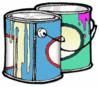 paint cans clip art