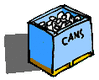 recycle bin cans clip art