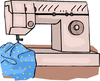sewing machine 3 clip art