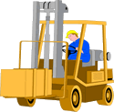 Vehicle equipment construction Forklift 01